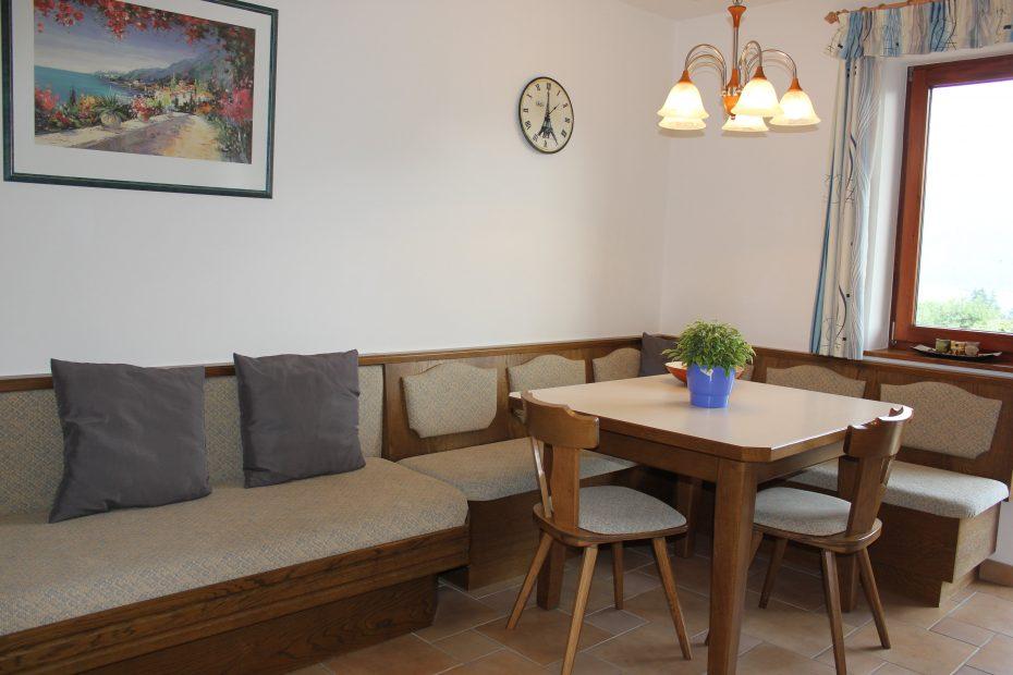 Küchentisch mit Sitzecke