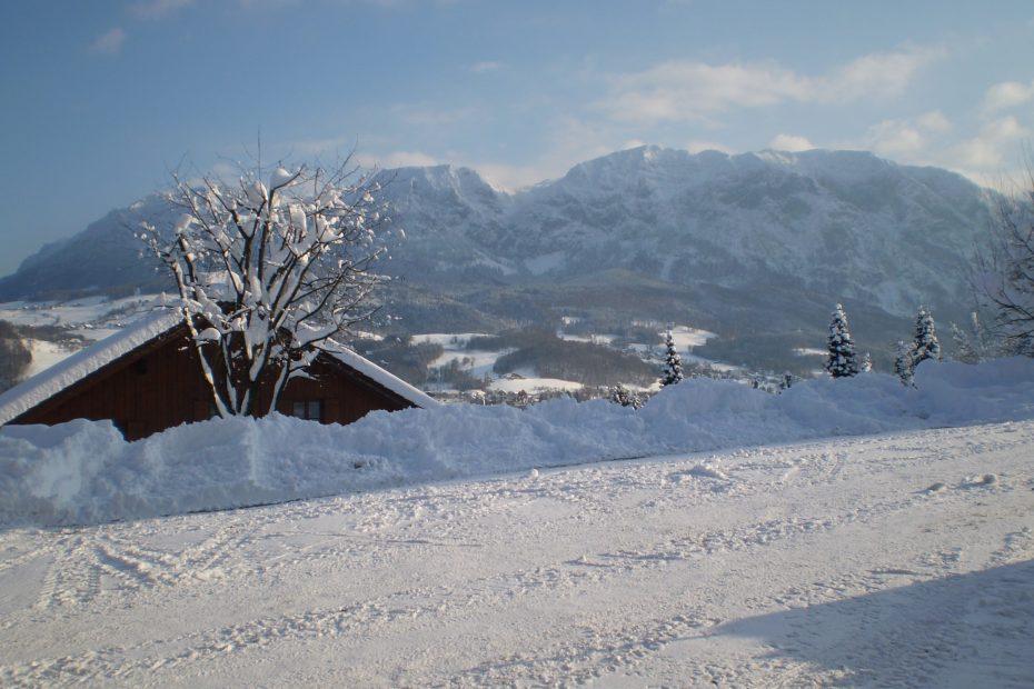 Winterlandschaft Höllengebirge