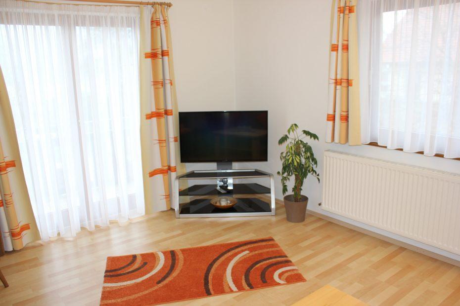 Wonzimmer mit Fernseher